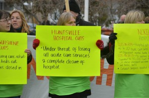 Huntsville Hospital Cuts